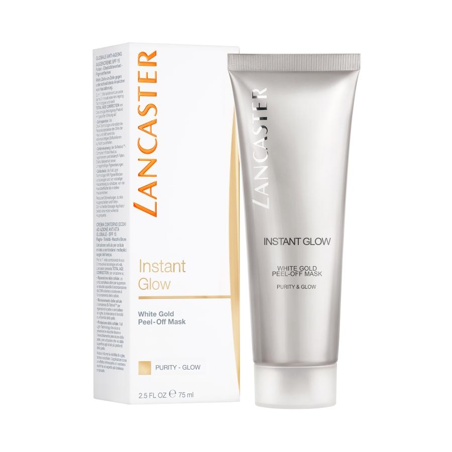Lancaster  Instant Glow Peel Off White Gold Maske 75 ml.