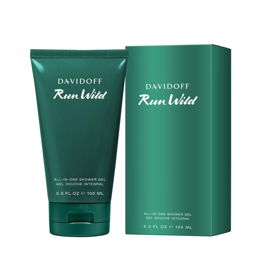 Davidoff  Run Wild  Shower Gel 150 ml.